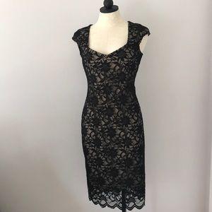 Tiana B. Black Lace Dress Sz. 6